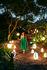 Sgabello luminoso Inouï LED - / Tavolo - Senza fili / Bluetooth di Fermob