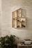 Miniature Funkis House Shelf - / Display case - L 47 x H 70 x Depth 7.6 cm by Ferm Living