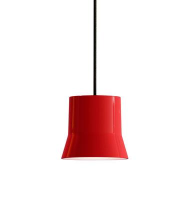 Suspension Gio Light / LED - Ø 10,7 cm - Artemide rouge,noir en métal