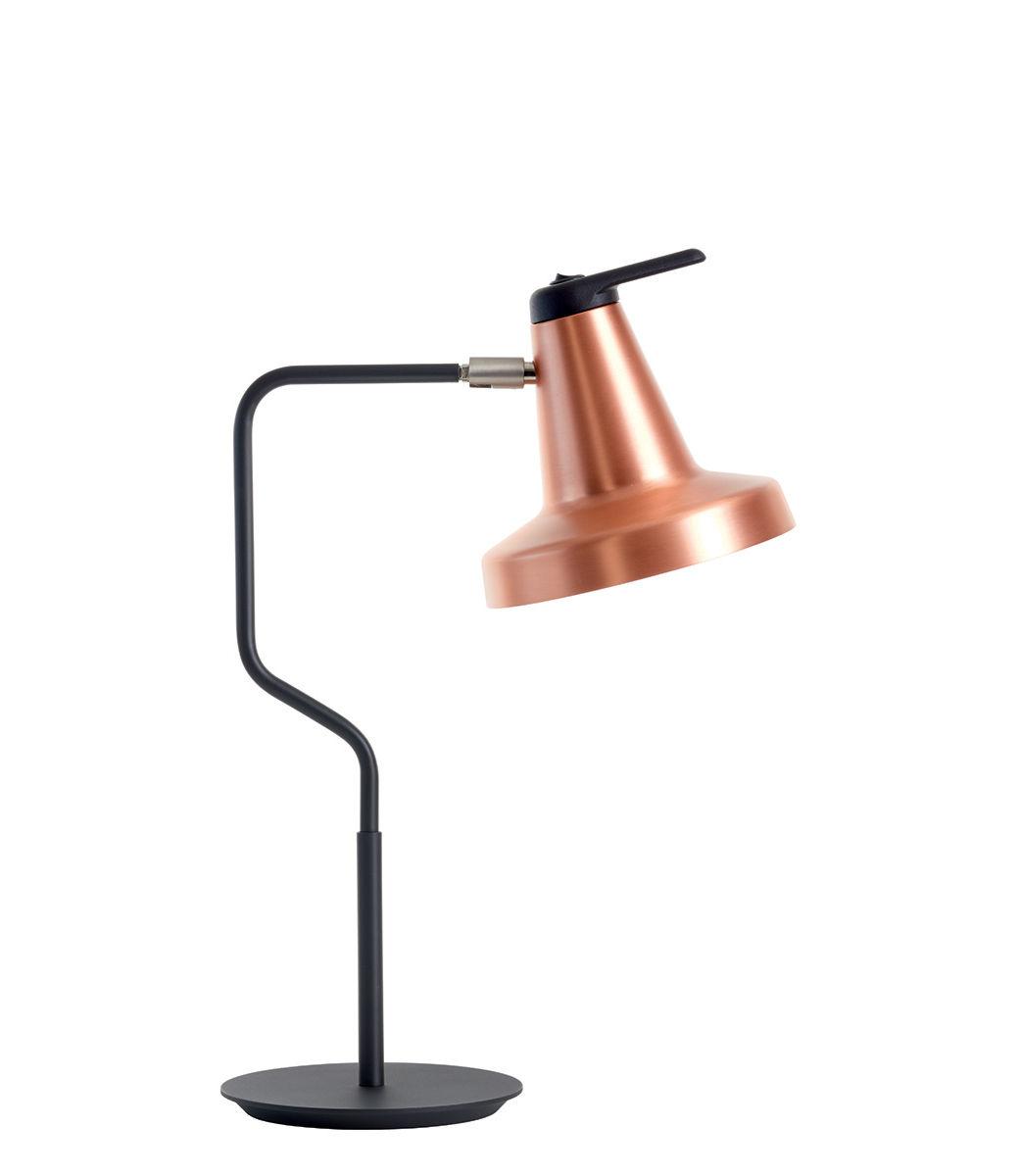 Lighting - Table Lamps - Garçon Table lamp - / Adjustable by Carpyen - Copper - Lacquered metal