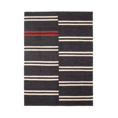 Tapis Mazandaran / 200 x 300 cm - Kilim 100% laine - Ethnicraft noir en tissu