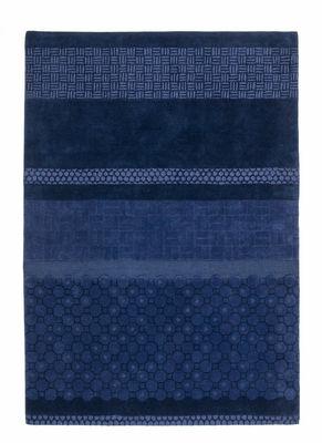 Interni - Tappeti - Tappeto Jie / 170 x 240 cm - Nanimarquina - Blu - Lana vergine