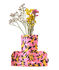 Flower Power Large Vase cover - / H 35 cm - Felt by Sancal
