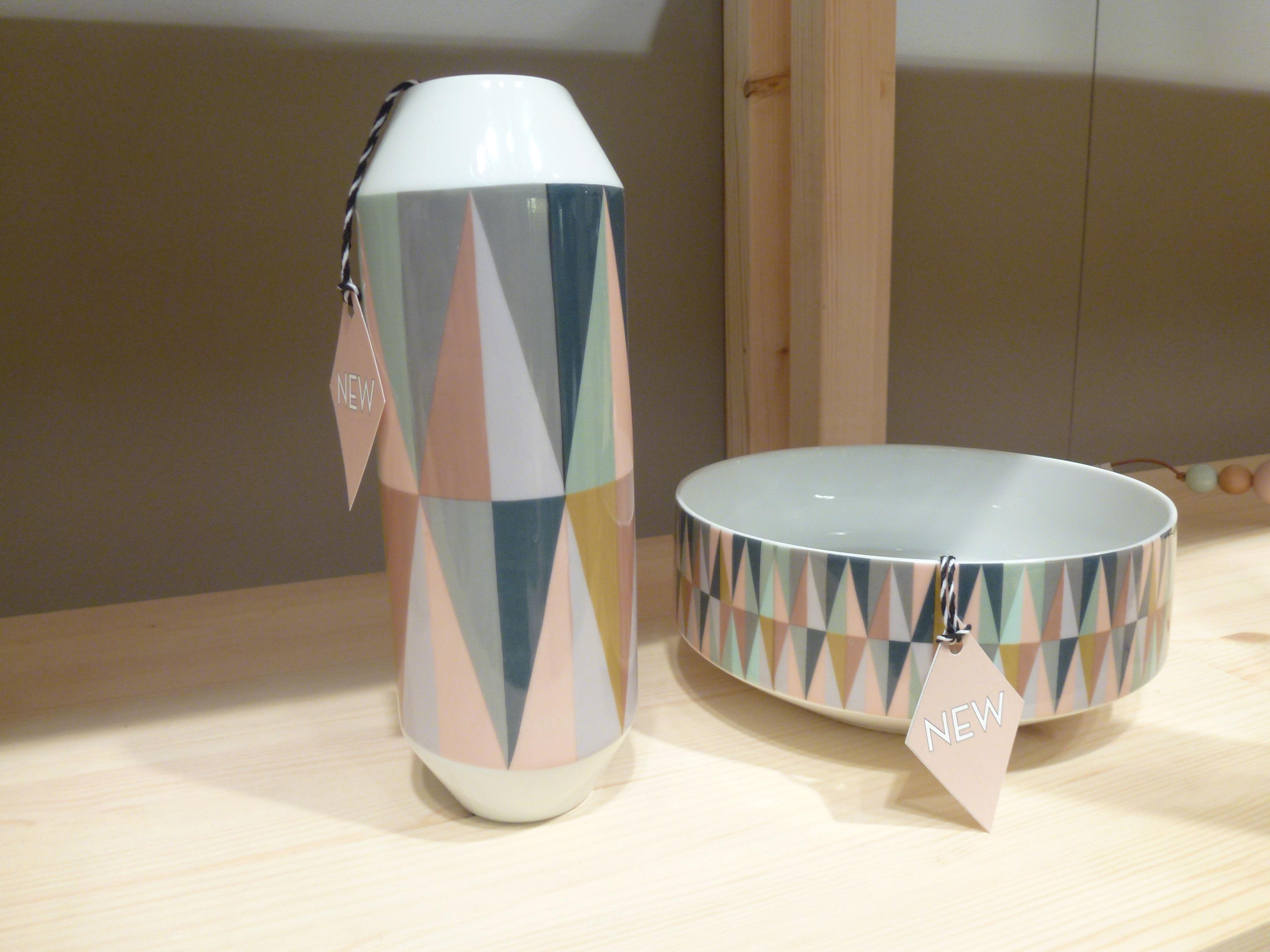 Spear vase mehrfarbig vase by ferm living made in design for Ferm living vase