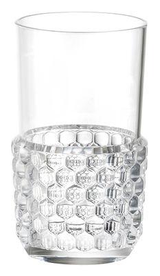 Verre Jellies Family / Large - H 15 cm - Kartell cristal en matière plastique