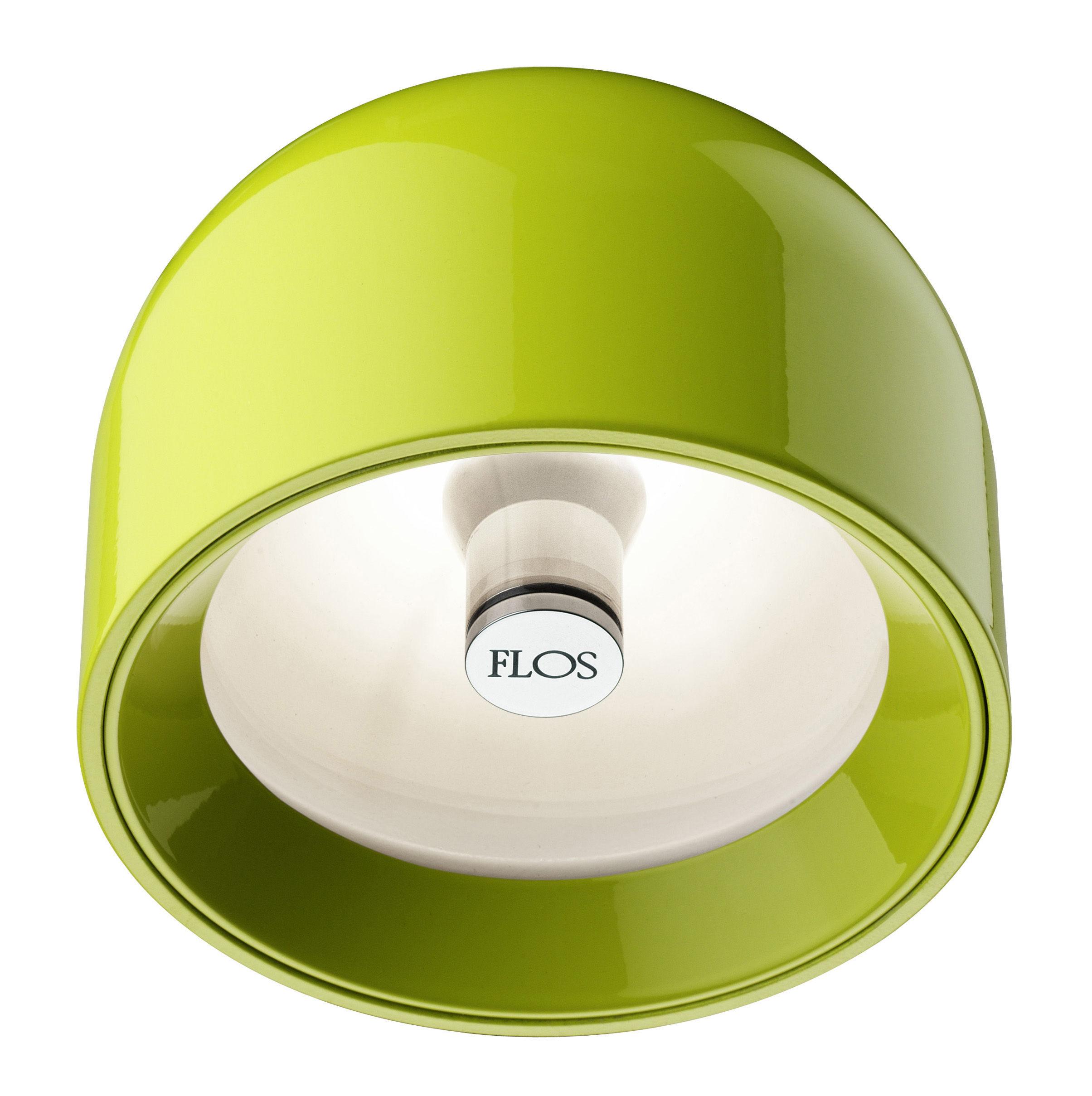 Leuchten - Wandleuchten - Wan Wandleuchte Deckenleuchte - Flos - Grün - Aluminium