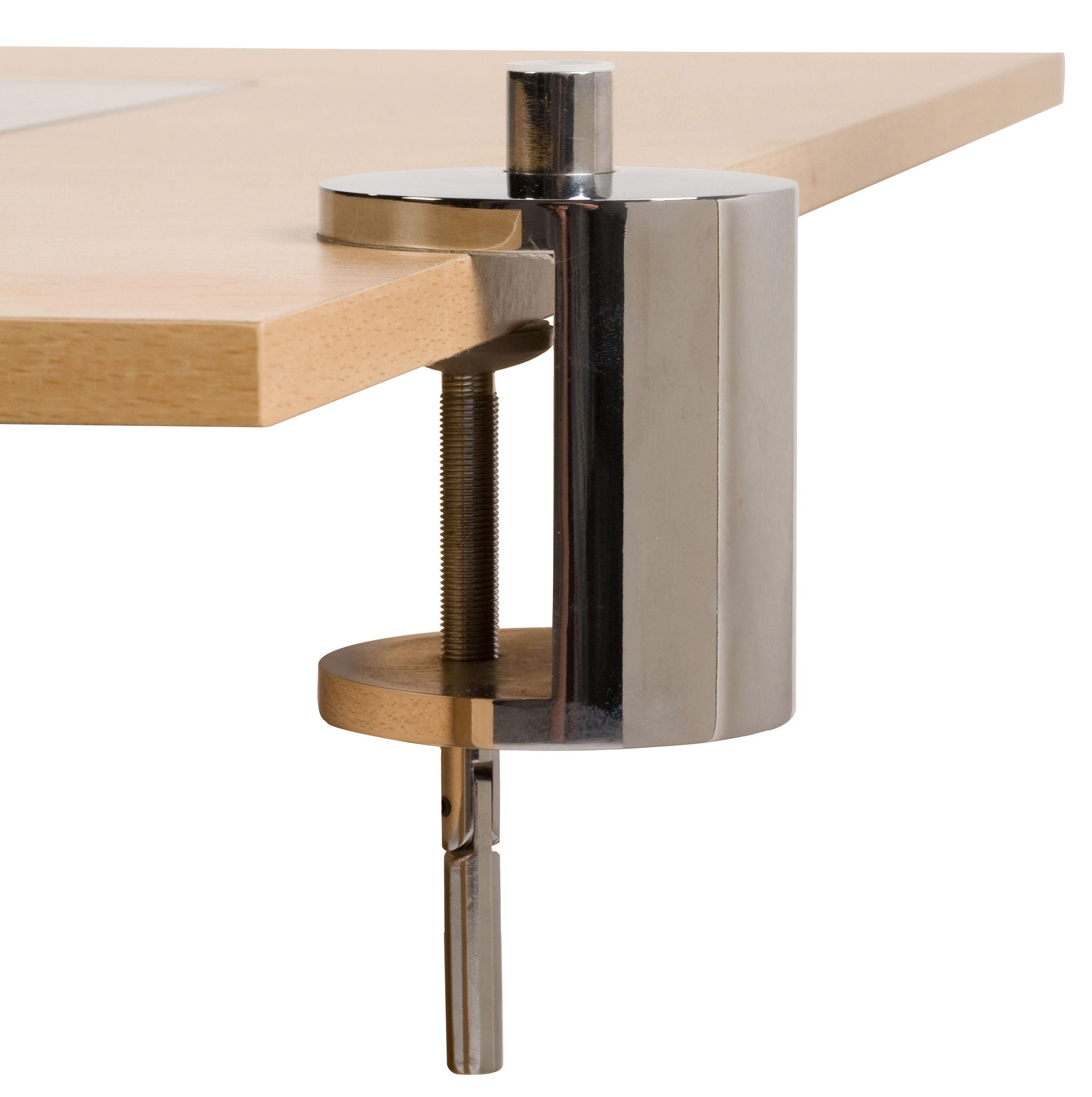 Luminaire - Lampes de table - Base étau / Pour lampes Anglepoise - Anglepoise - Chromé - Aluminium