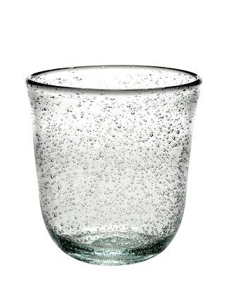 Tavola - Bicchieri  - Bicchiere Pure - / Fatto a mano di Serax - Trasparente - Vetro a bollicine