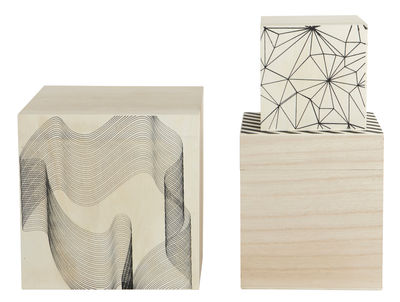 Graphic Box Set Of 40 Graphic By House Doctor Made In Design UK New Decorative Boxes Uk