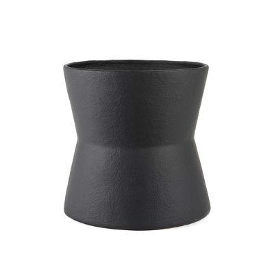 Déco - Pots et plantes - Cache-pot Construct Large / Ø 60 x H 57 cm -  Papier mâché - Serax - Ø 60 x H 57 cm / Noir - Fibre de verre, Papier mâché