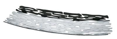 Tavola - Cesti, Fruttiere e Centrotavola - Centrotavola Bark / 51,5 x 19,5 cm - Alessi - Acciaio lucidato a specchio - Acciaio inox 18/10