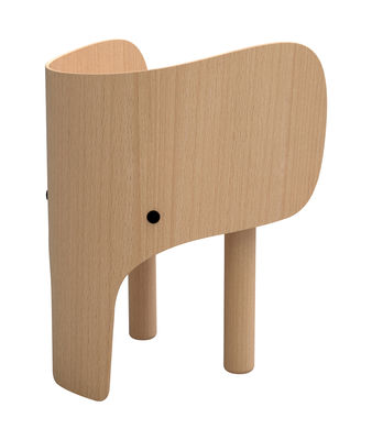 Mobilier - Mobilier Kids - Chaise enfant Elephant - Elements Optimal - Hêtre - Hêtre laqué