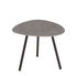 Terramare Coffee table - Porcelain stoneware - 48 x 48 cm by Emu