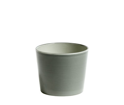 Decoration - Flower Pots & House Plants - Botanical Medium Flowerpot - /Ø13.5 cm - Ceramic by Hay - Pot / Grey - Ceramic
