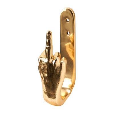 Furniture - Coat Racks & Pegs - F-you Hook - / Metal by Pols Potten - F-you - Metal