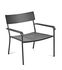 August Low armchair - / Aluminium by Serax