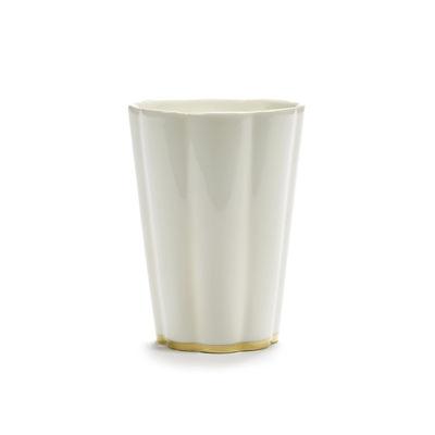 Tableware - Tea & Coffee Accessories - Désirée Mug by Serax - White & gold - China