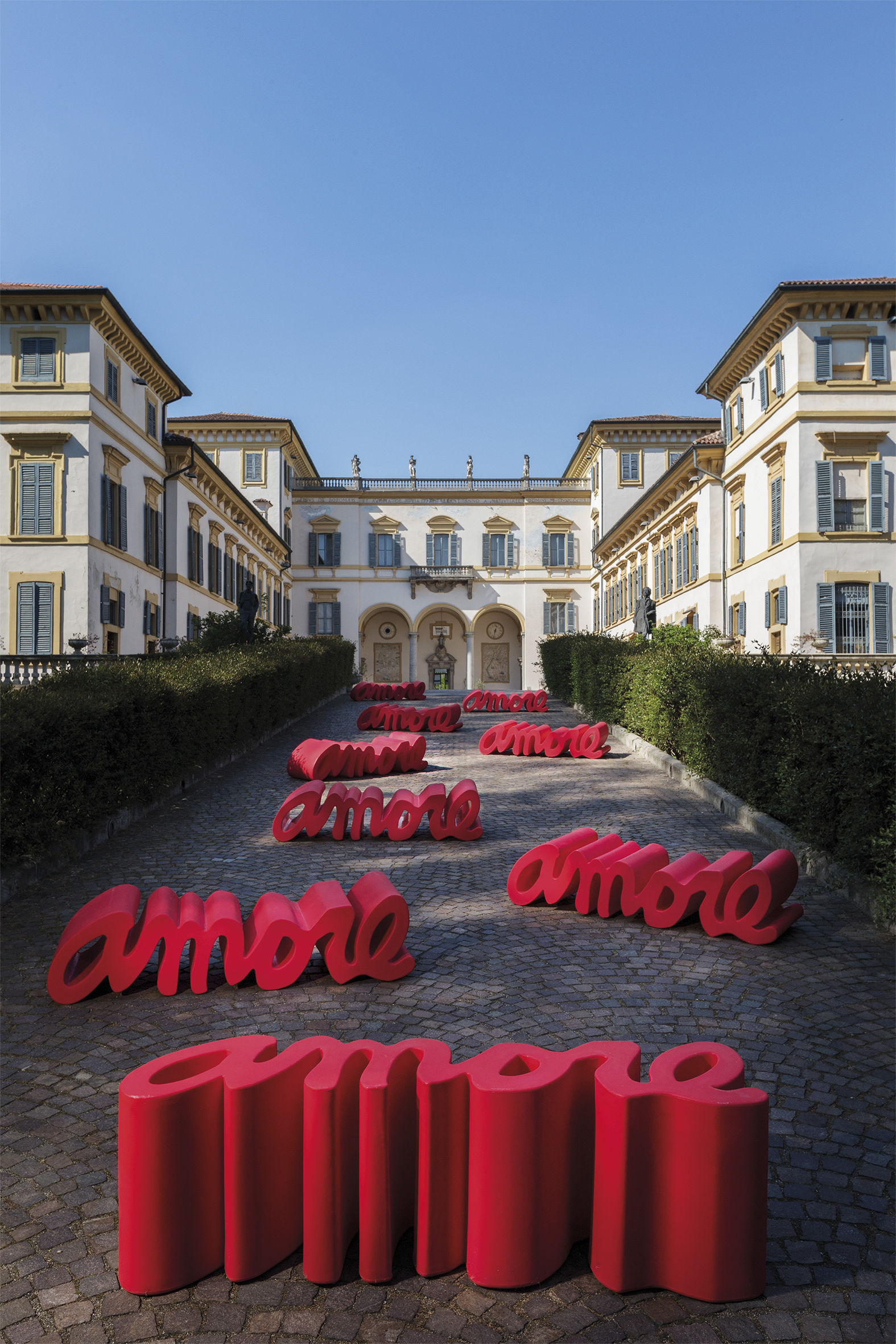 Panchina amore di slide rosso made in design for Arredamento made in china