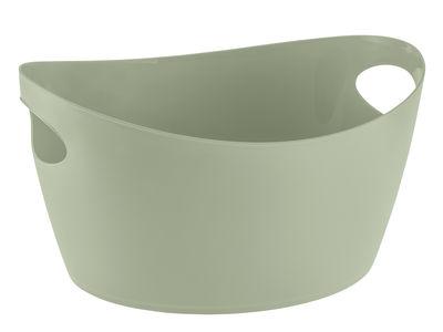 Panier Bottichelli M / L 35 x H 17 cm - Koziol vert en matière plastique