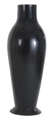 Pot de fleurs Miss Flower Power / H 164 cm - Version opaque - Kartell noir opaque en matière plastique