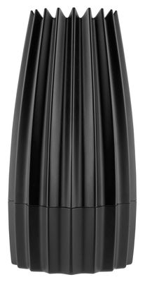 Egg Cups - Salt & Pepper Mills - Gring Spice mill - / Salt & pepper by Alessi - Black - Cast aluminium, Ceramic