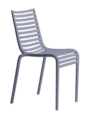 Furniture - Chairs - PIP-e Stacking chair - Plastic by Driade - Blue lavender - Polypropylene