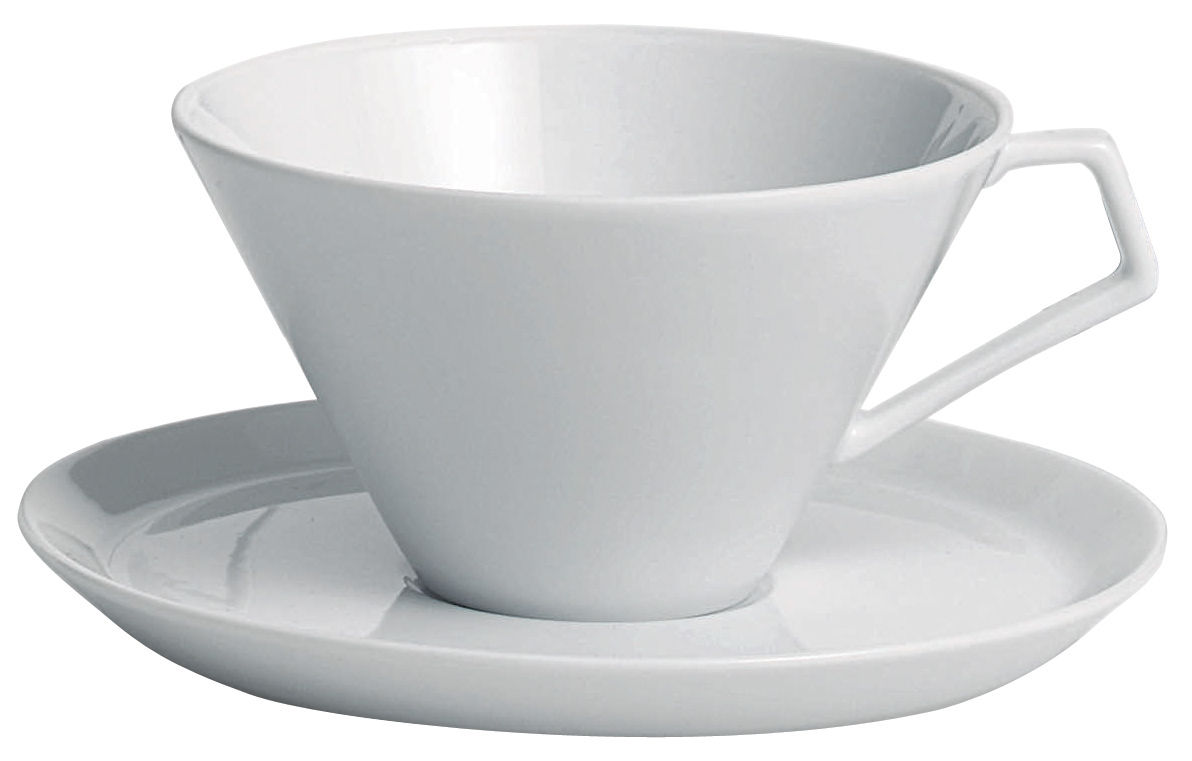 Arts de la table - Tasses et mugs - Tasse à thé Anatolia - Driade Kosmo - Tasse blanche - Porcelaine