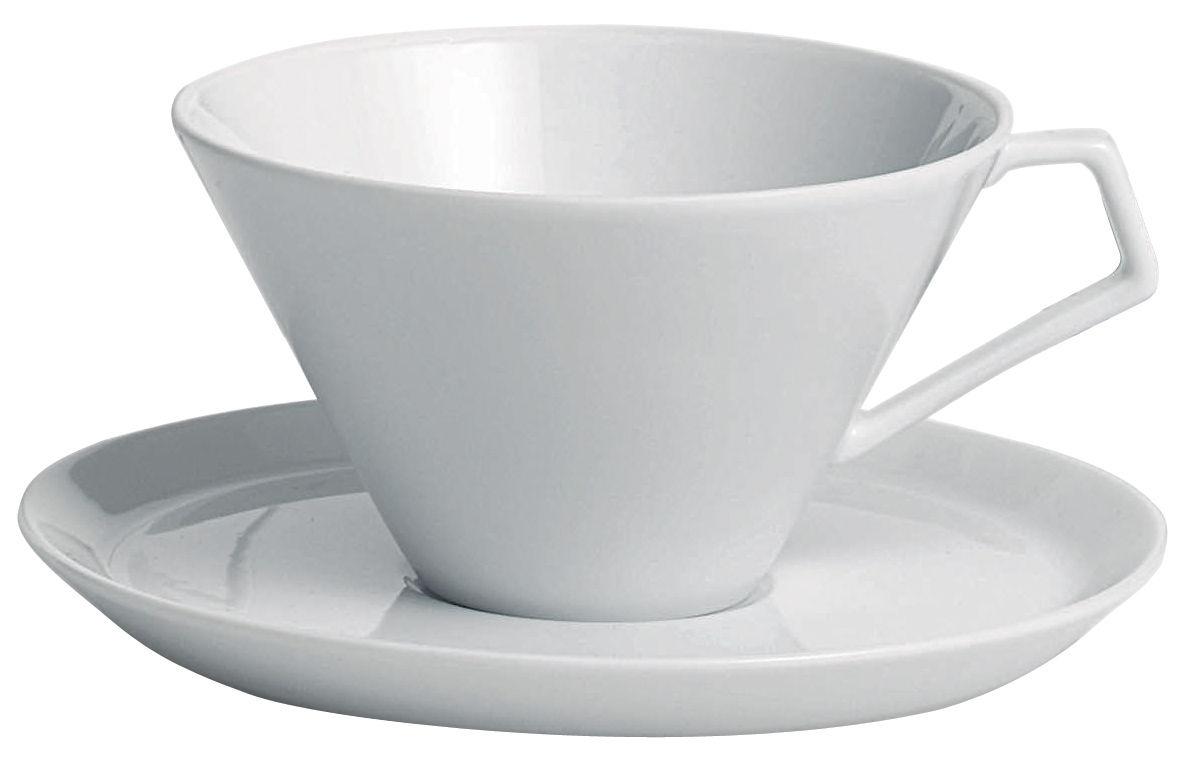Tavola - Tazze e Boccali - Tazza da tè Anatolia di Driade Kosmo - Tazza Bianca - Porcellana