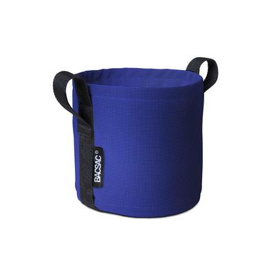 Image of Vaso per fiori Batyline® - / Outdoor - 3 L di Bacsac - Blu - Tessuto