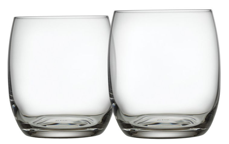Arts de la table - Verres  - Verre à eau Mami XL / Lot de 2 - Alessi - Transparent - Verre cristallin