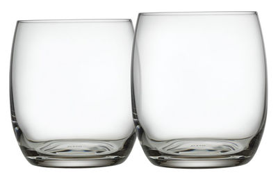 Arts de la table - Verres  - Verre à whisky Mami XL / Lot de 2 - Alessi - Transparent - Verre cristallin