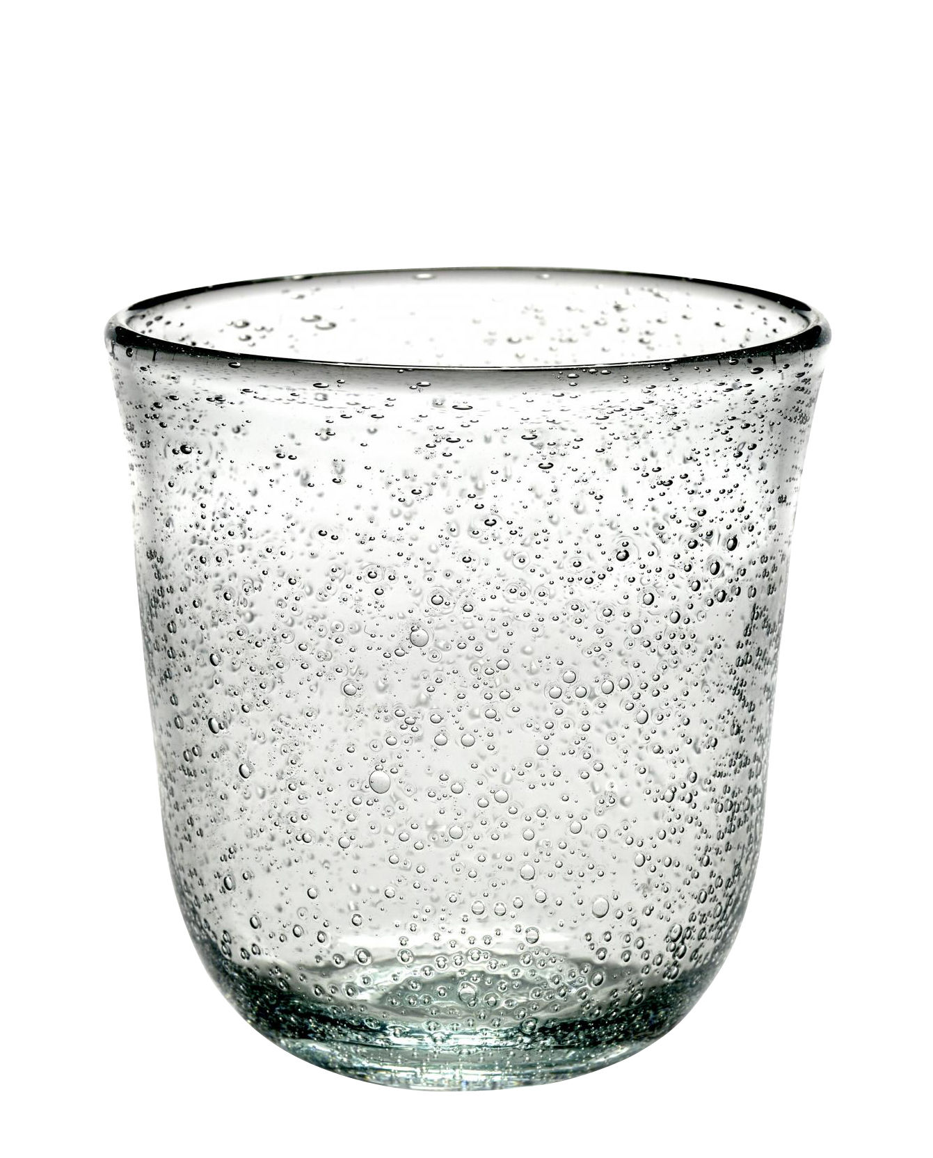 Arts de la table - Verres  - Verre Pure / Fait main - Serax - Transparent - Verre bullé