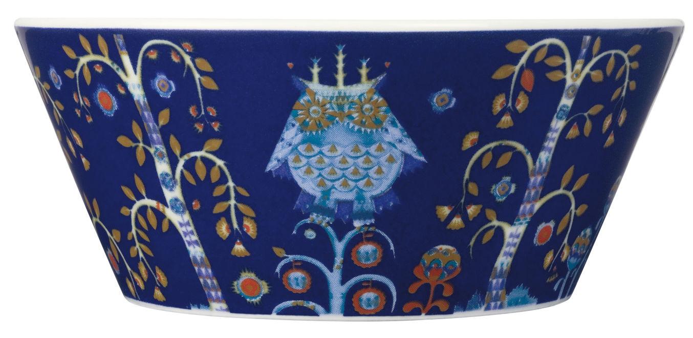 Arts de la table - Saladiers, coupes et bols - Bol Taika / 30 cl - Iittala - Bleu - Céramique