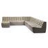 Canapé droit N701 / 3 places - L 210 cm / Tissu - Ethnicraft