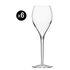 Flûte da champagne Privé Grand Cru - per vino bianco o spumante - Lotto da 6 - 33 cl di Italesse