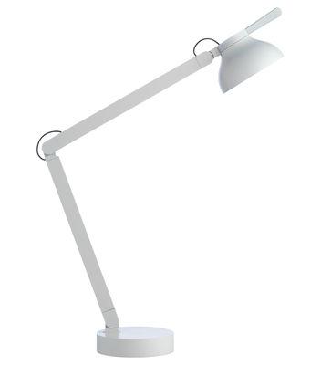 Lampe de table PC by Pierre Charpin / LED - wrong.london gris clair en métal