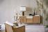 Meuble TV / L 160 x H 80 cm - Fibre naturelle & laque - RED Edition