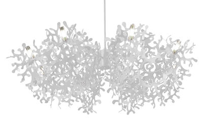Lighting - Pendant Lighting - Supercoral 8 Pendant - Ø 140 cm by Lumen Center Italia - White - Lacquered metal