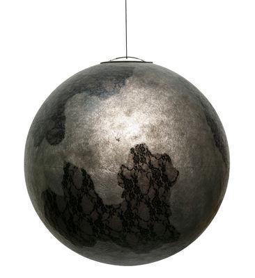 Ululi Pendelleuchte / nur für den Inneneinsatz - Ø 45 cm - Karman - Grau,Schwarz