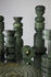 Portacandela Rock Large - / Marmo - Modulabile di Tom Dixon