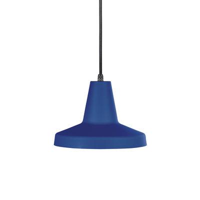 Suspension Famara / Métal - Ø 26,3 cm - OUTDOOR / Câble avec prise (branchement secteur) - EASY LIGHT by Carpyen bleu océan en métal
