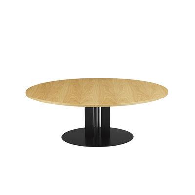 Table basse Scala / Ø 130 x H 40 cm - Chêne naturel - Normann Copenhagen bois naturel en bois
