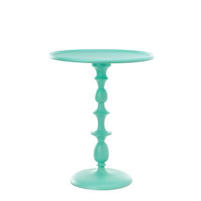 Table d'appoint Classic / Ø 46 x H55 cm - Fonte aluminium - Pols Potten vert en métal