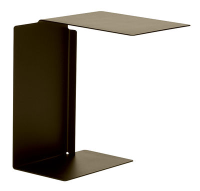Table d'appoint Diana B Plateau à droite ClassiCon marron bronze en métal