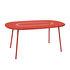 Table ovale Lorette / 160 x 90 cm - Métal perforé - Fermob