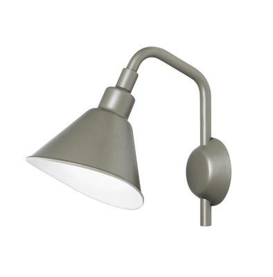 Applique Smash Small / Métal - L 25 x H 32 cm - Diesel with Foscarini gris en métal