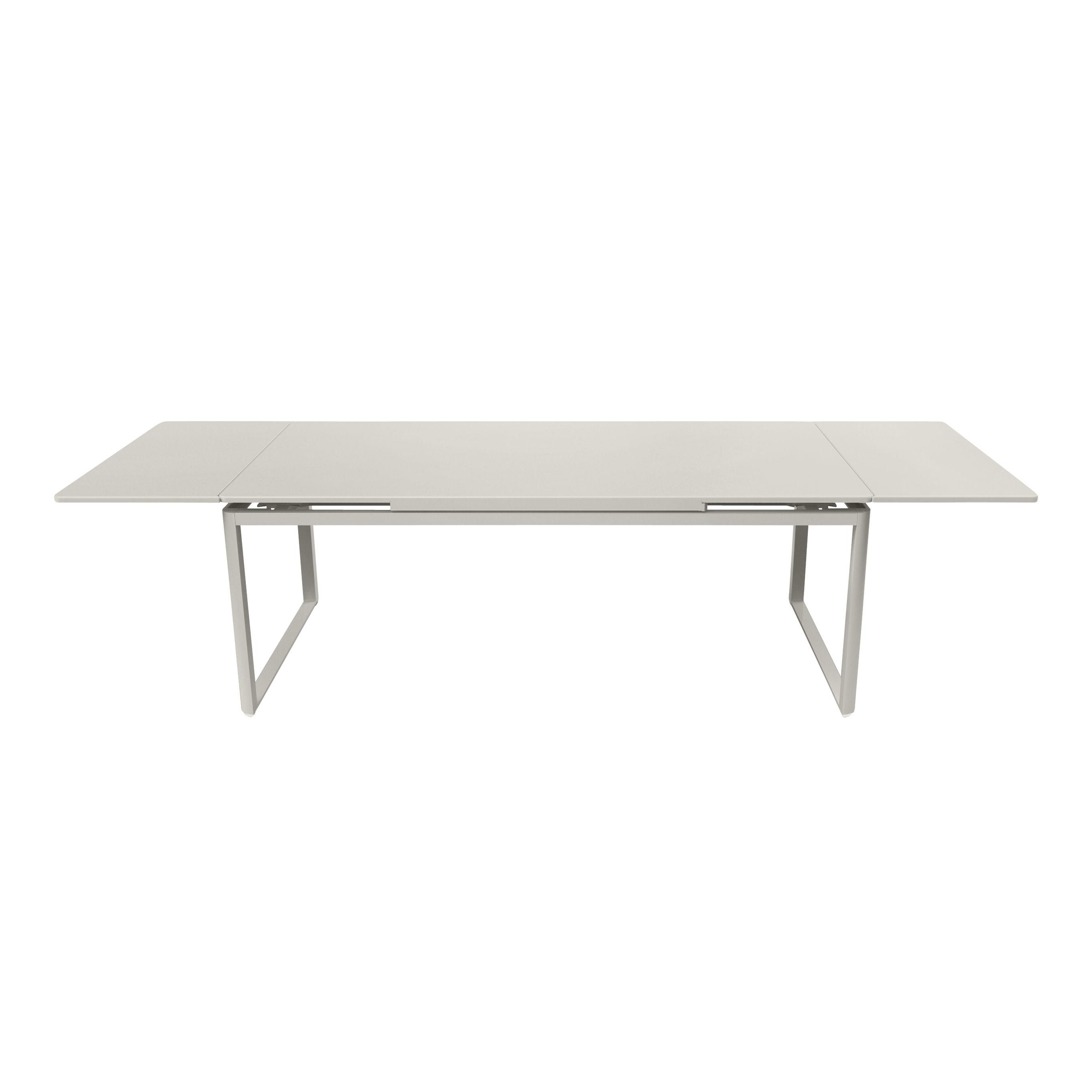 Outdoor - Tische - Biarritz Ausziehtisch / L 200 bis 300 cm - Fermob - Lehmgrau - lackierter Stahl, lackiertes Aluminium