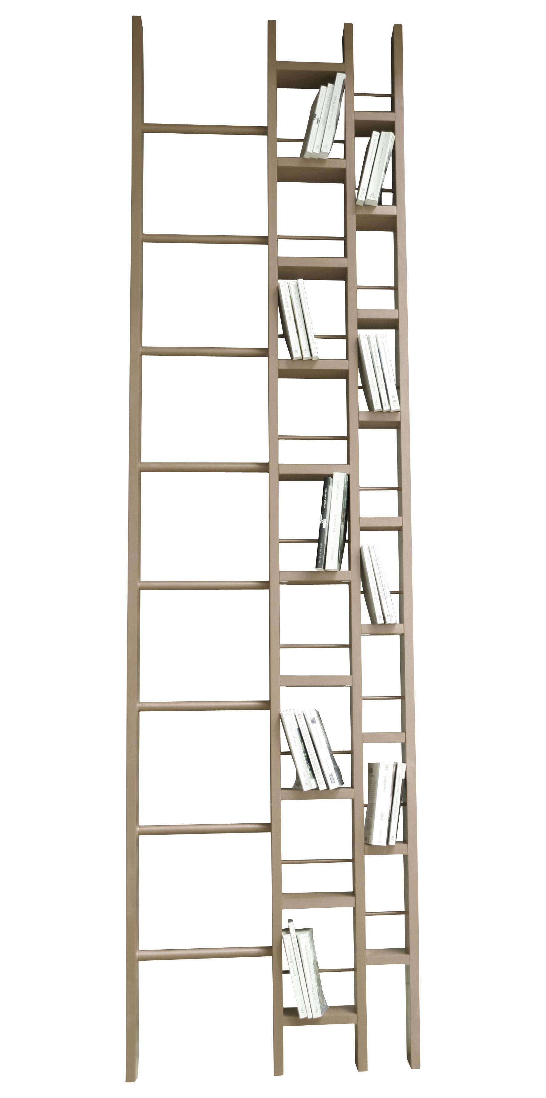 Mobilier - Etagères & bibliothèques - Bibliothèque Hô / L 64 x H 240 cm - La Corbeille - Hêtre - Hêtre verni