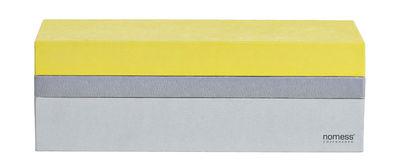 Déco - Boîtes déco - Boîte Tray Box / Small - Nomess - Jaune - Carton