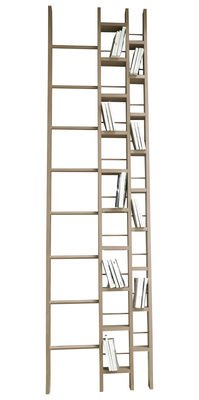 Furniture - Bookcases & Bookshelves - Hô Bookcase - Width 64 cm by La Corbeille - Beech - Varnished beech